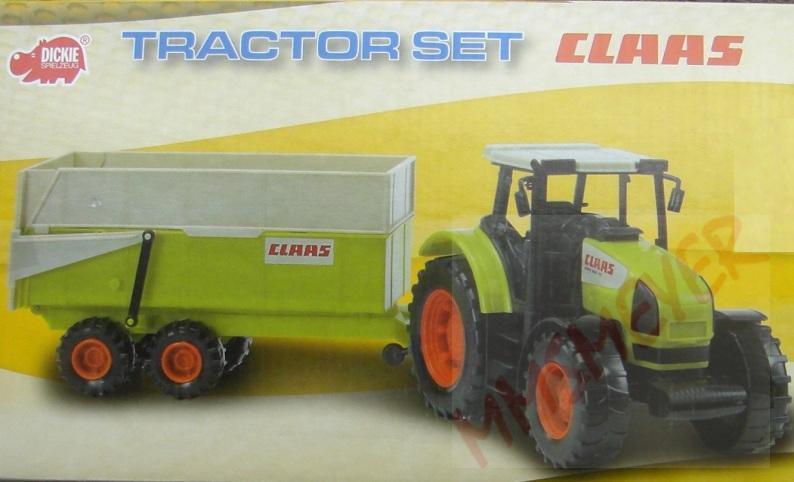 Traktor claas trecker spielzeug dickie auto neu ovp ebay