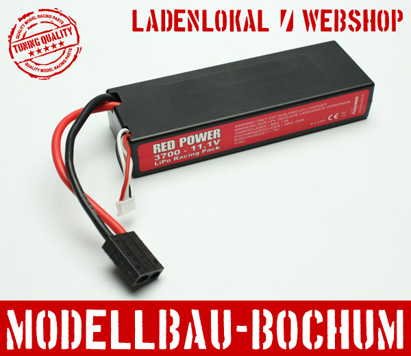 RED-POWER-Lipo-Akku-11-1V-3S-3700-mAh-70C-Traxxas-C5181