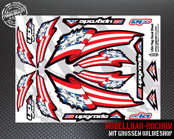 Upgrade-RC-Decal-Aufkleber-Bogen-USA-Flaggen
