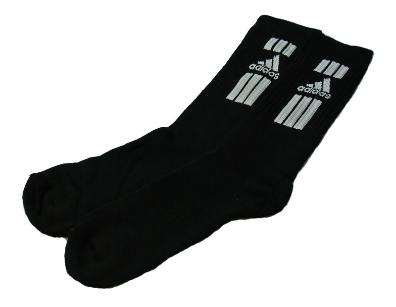 adidas f 3s crew sportsocken 9 paar schwarz socken. Black Bedroom Furniture Sets. Home Design Ideas