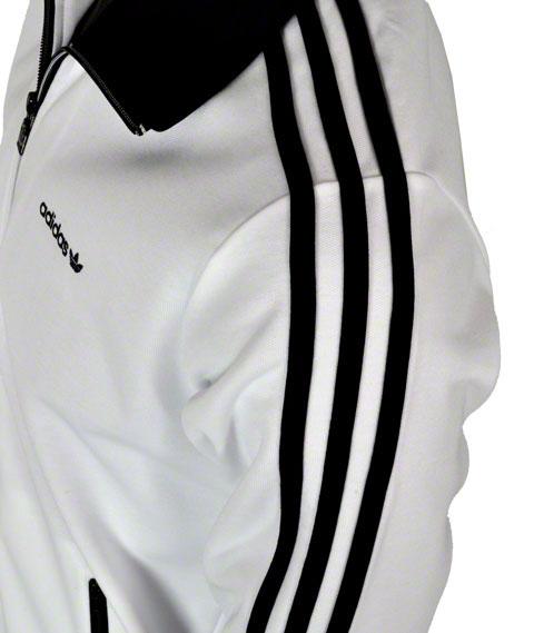adidas spo beckenbauer tt jacke wei schwarz m l xl 2xl track top freizeitjacke ebay. Black Bedroom Furniture Sets. Home Design Ideas