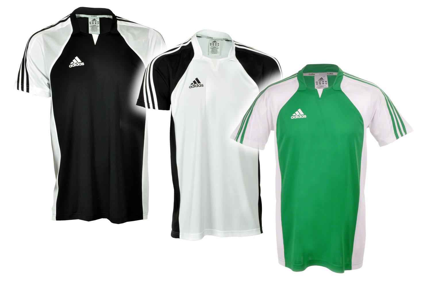 adidas team trikot t shirt gr n wei schwarz xs s m l xl. Black Bedroom Furniture Sets. Home Design Ideas
