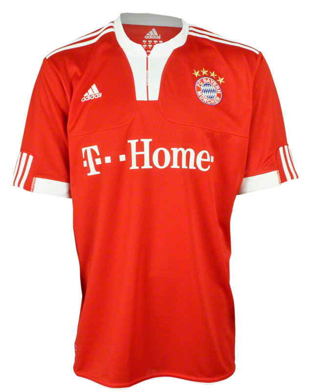 adidas home heim trikot jersey shirt fc bayern m nchen rot xl 2xl 3xl fcb t home ebay. Black Bedroom Furniture Sets. Home Design Ideas