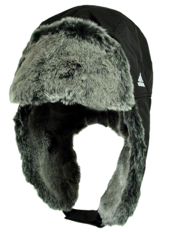 adidas russian cap russians hat black womens mens aviator hat fur cap ebay. Black Bedroom Furniture Sets. Home Design Ideas