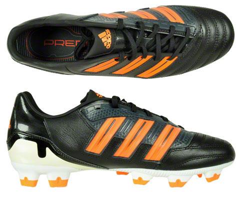adidas predator absolion trx fg nockenschuh leder schwarz orange 41 42 43 44 45