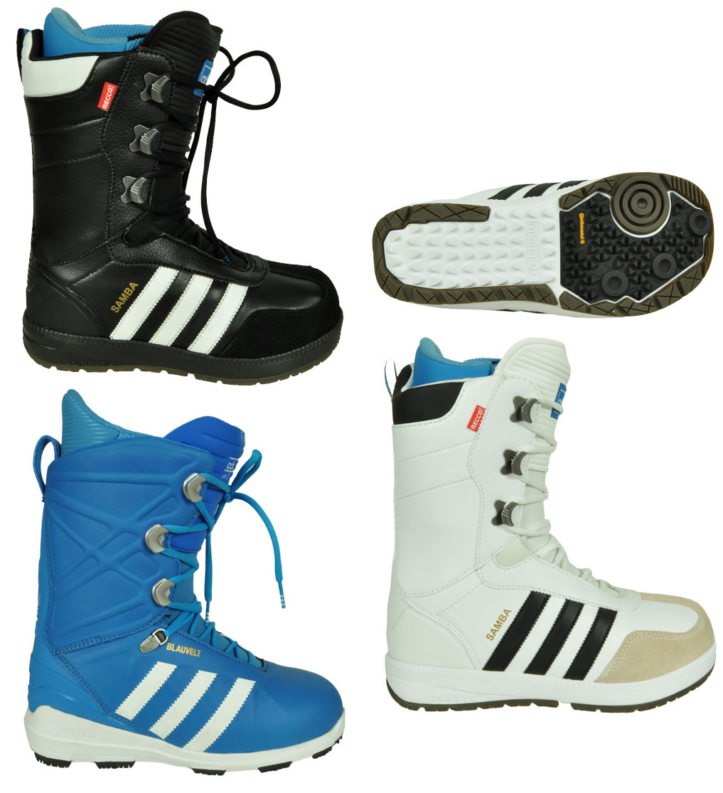 adidas originals samba snowboard stiefel boots schuhe schwarz wei ebay. Black Bedroom Furniture Sets. Home Design Ideas