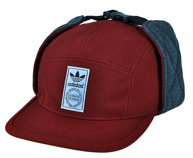 adidas originals winterized cap kappe wintercap rot blau damen herren ohrenschut ebay. Black Bedroom Furniture Sets. Home Design Ideas