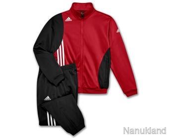 adidas trainingsanzug sereno gr 9 xxl rot ebay. Black Bedroom Furniture Sets. Home Design Ideas