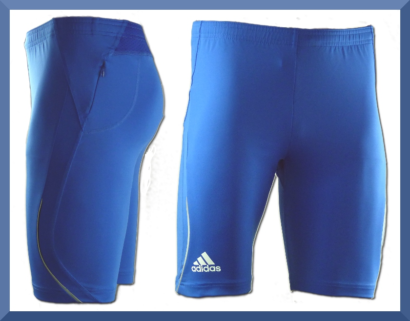 adidas tr laufhose tight short blau xs s m l xl kurze hose radlhose ebay. Black Bedroom Furniture Sets. Home Design Ideas