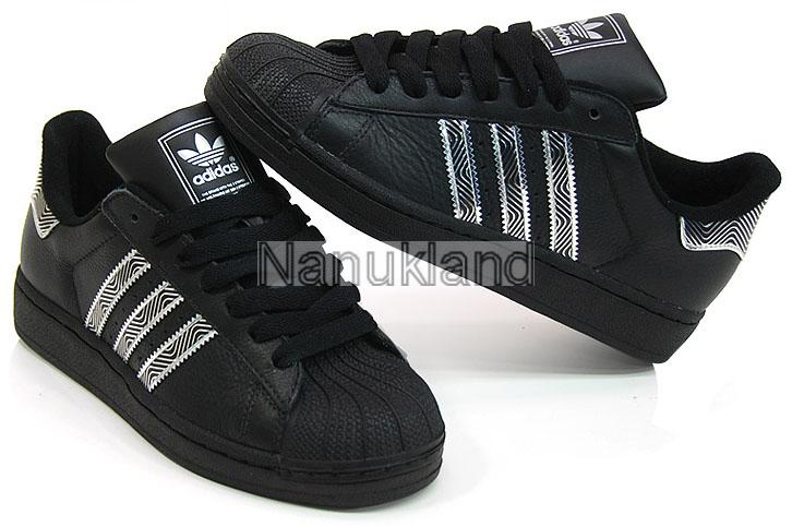 adidas superstar ii 2 sneaker schwarz silber 38 41 42 43 44 46. Black Bedroom Furniture Sets. Home Design Ideas