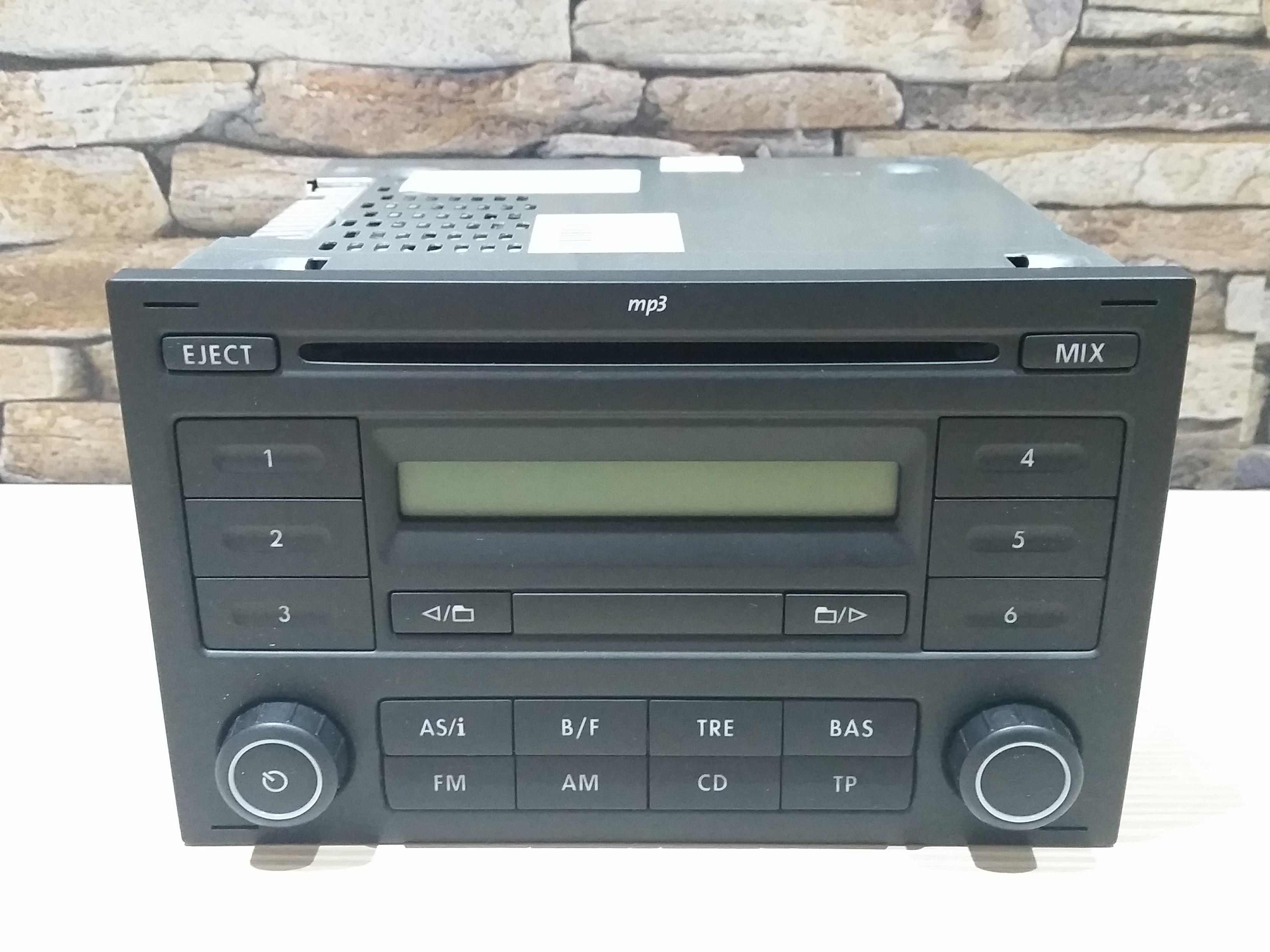 vw rcd 200 mp3 cd radio t4 t5 bora polo lupo golf passat. Black Bedroom Furniture Sets. Home Design Ideas