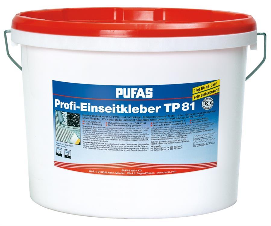 Einseitkleber Teppichkleber Bodenbelag Kleber TP 81