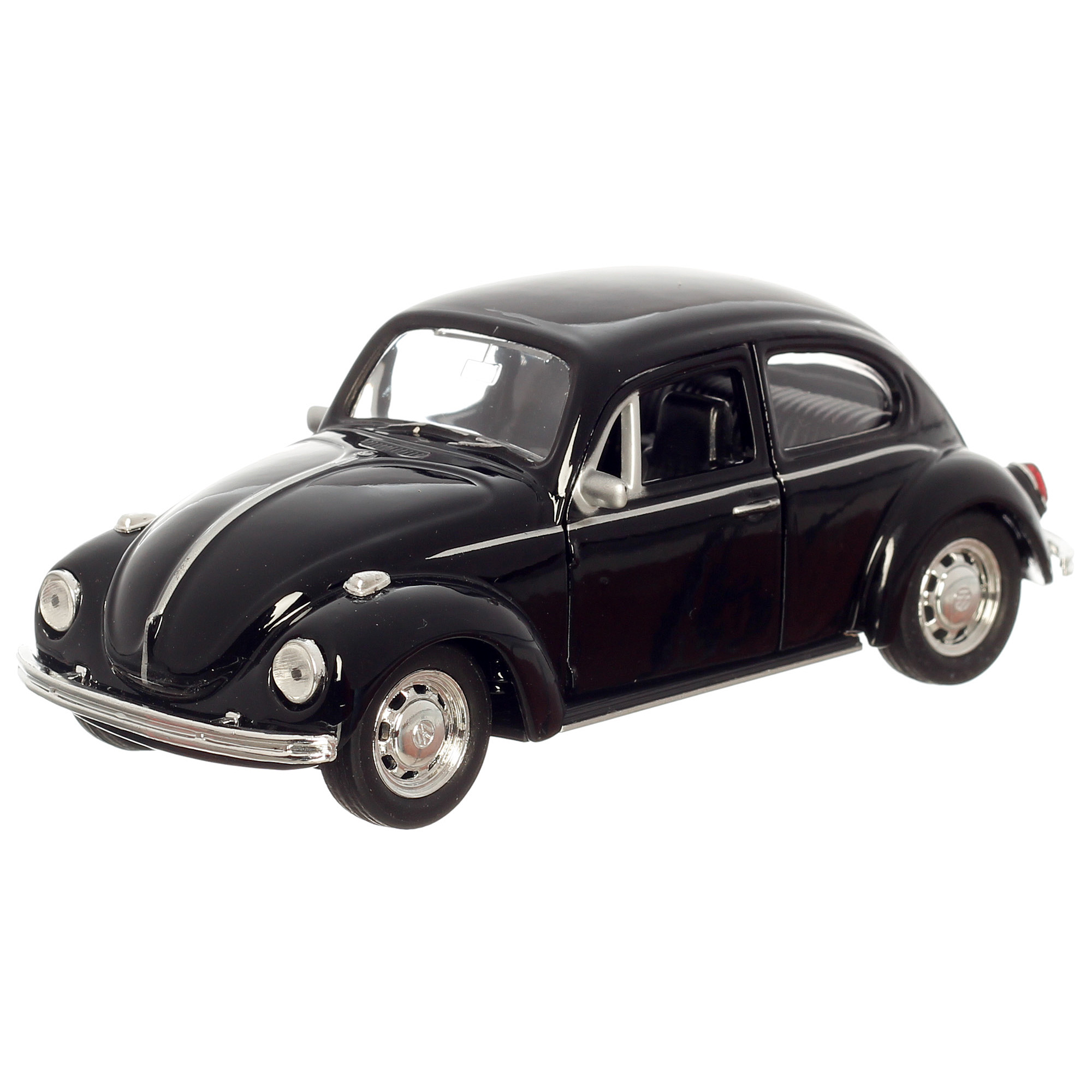 vw k fer metallauto 11cm schwarz modellauto ebay. Black Bedroom Furniture Sets. Home Design Ideas