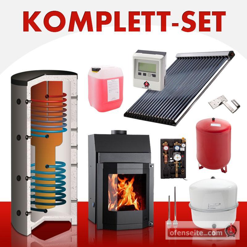 solarkomplettset 12 m thermoflame 17 prisma solarthermie warmwasser bafa ofen ebay. Black Bedroom Furniture Sets. Home Design Ideas
