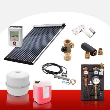 solarthermie set komplett westech 3 11 m r hrenkollektoren warmwasser solar 4260411824985 ebay. Black Bedroom Furniture Sets. Home Design Ideas