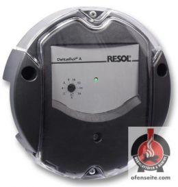 Temperaturdifferenzregelung RESOL DeltaSol A inkl. Messfühler Solarsteuerung