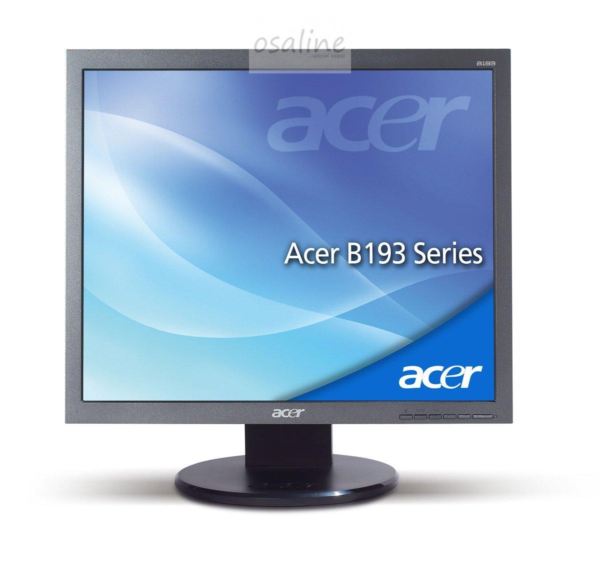 acer 19 48 3 cm 19 zoll tft monitor dvi vga 5ms. Black Bedroom Furniture Sets. Home Design Ideas