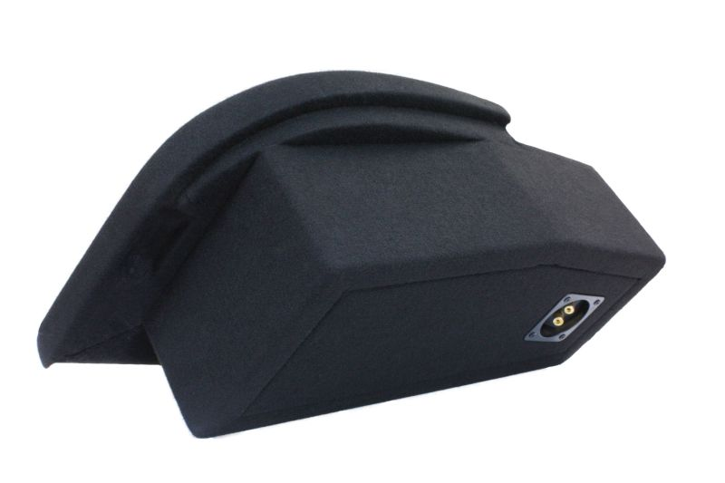 fahrzeugspezifisches subwoofer geh use aus mdf f r audi a4. Black Bedroom Furniture Sets. Home Design Ideas