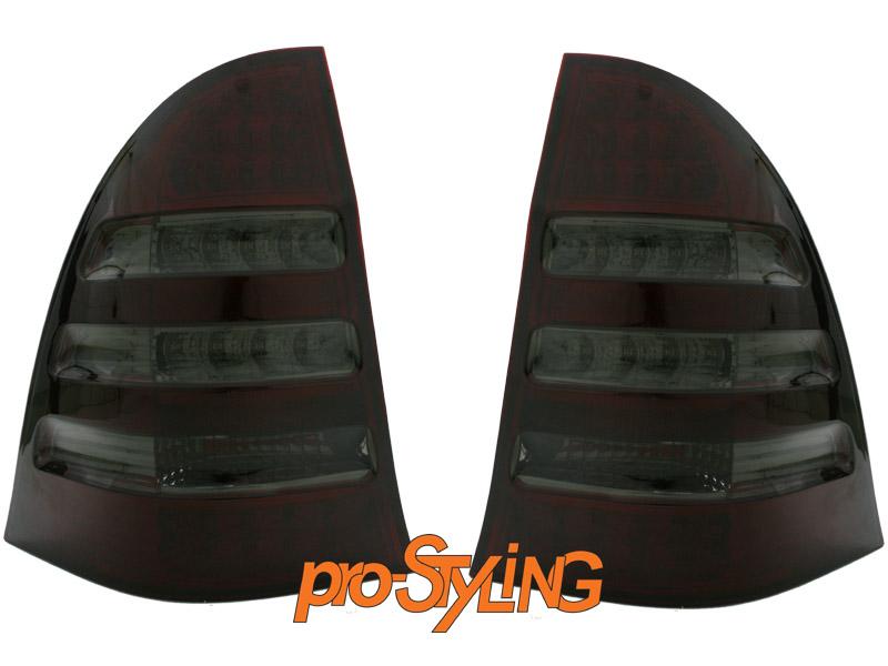 r ckleuchten mercedes w203 t modell kombi led rot schwarz. Black Bedroom Furniture Sets. Home Design Ideas