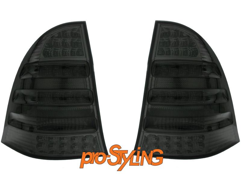 r ckleuchten mercedes benz w203 t modell led schwarz ebay. Black Bedroom Furniture Sets. Home Design Ideas