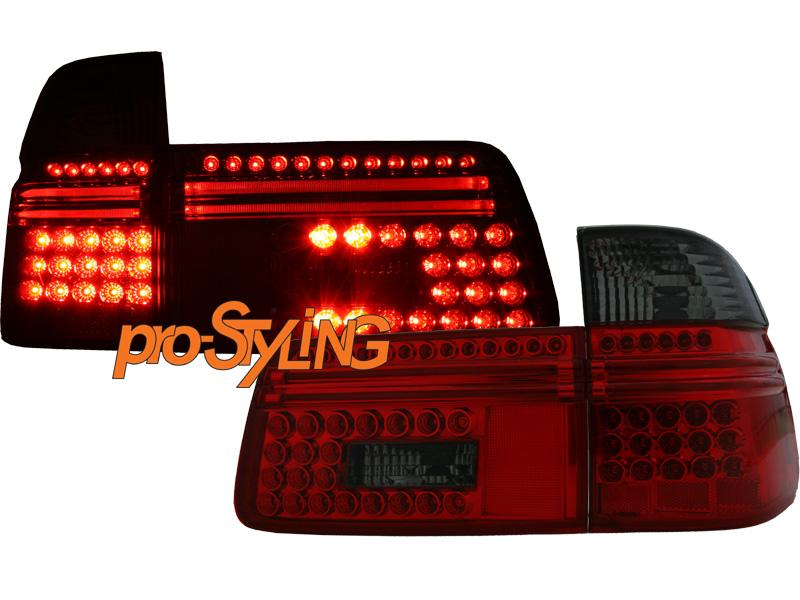 r ckleuchten bmw e39 5er touring kombi led rot schwarz ee. Black Bedroom Furniture Sets. Home Design Ideas