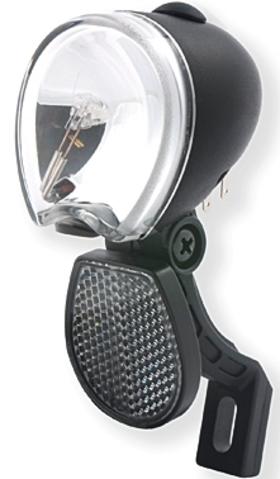 spanninga led scheinwerfer micro ff mit schalter f r nabendynamo standlicht ebay. Black Bedroom Furniture Sets. Home Design Ideas