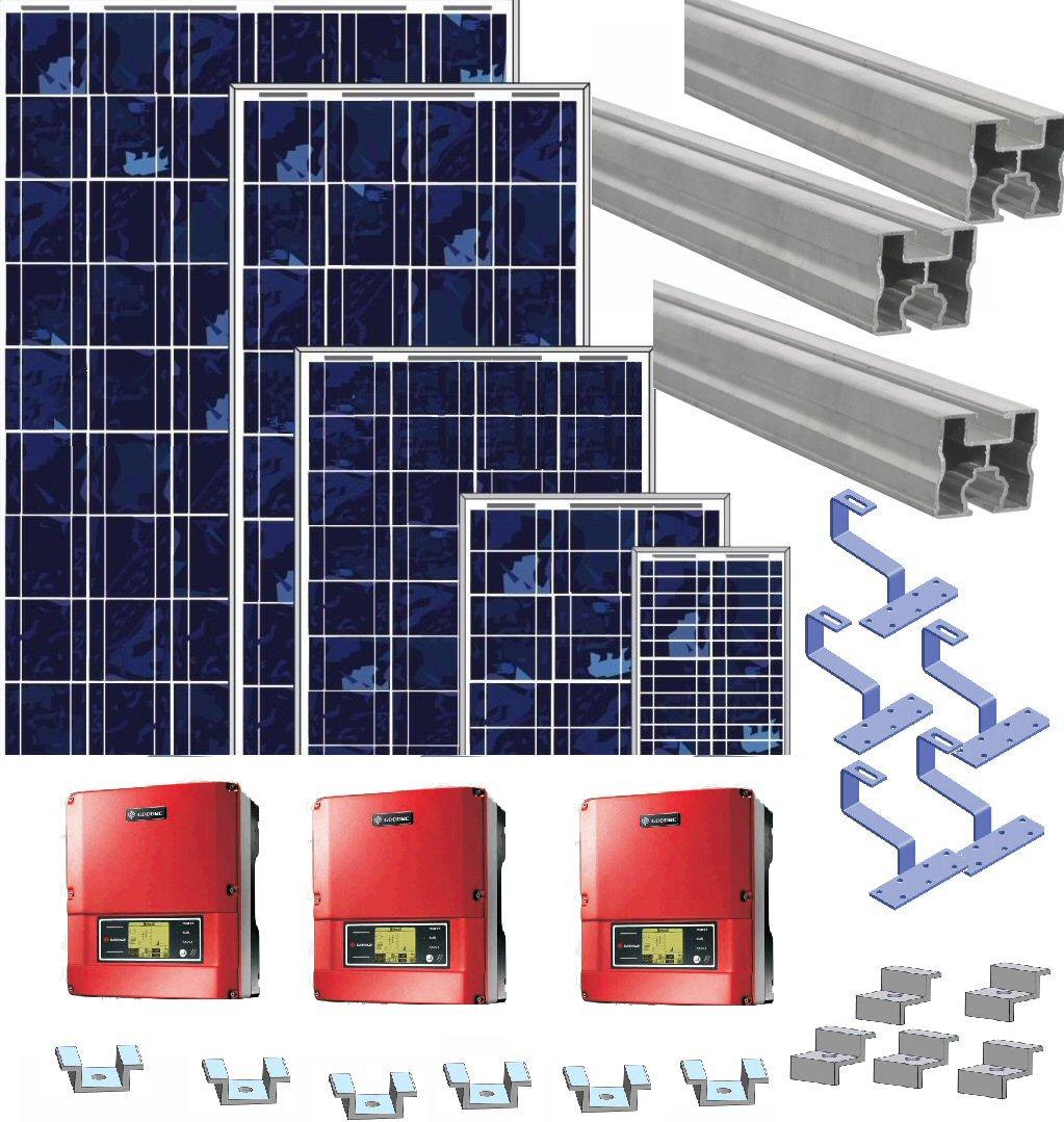 pv anlage 1 7 kwp photovoltaik solaranlage komplett. Black Bedroom Furniture Sets. Home Design Ideas