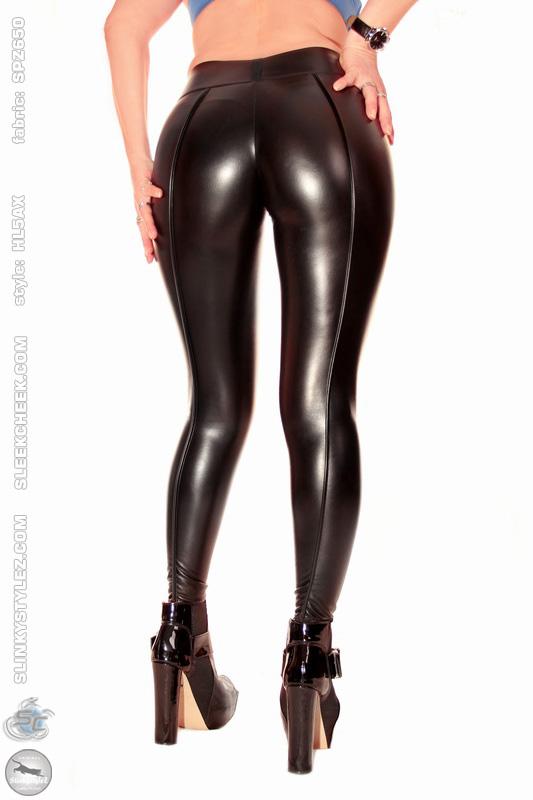 booty leggings mit ultracontourfront hl5ax d8 sensipelle z650 schwarz ebay. Black Bedroom Furniture Sets. Home Design Ideas