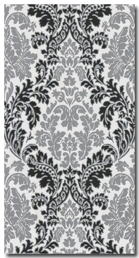 Tapeten retro barock schwarz wei silber 3 56eur m ebay - Tapeten schwarz weiay silber ...