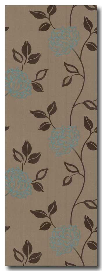 tapeten satin floral beige braun t rkis 2 25eur m ebay. Black Bedroom Furniture Sets. Home Design Ideas