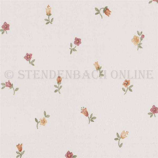 Tapete im Landhaus Stil aus Italien Streublümchen (3.19 ...