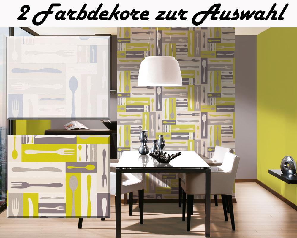 tapeten f r die k che hausgestaltung ideen. Black Bedroom Furniture Sets. Home Design Ideas