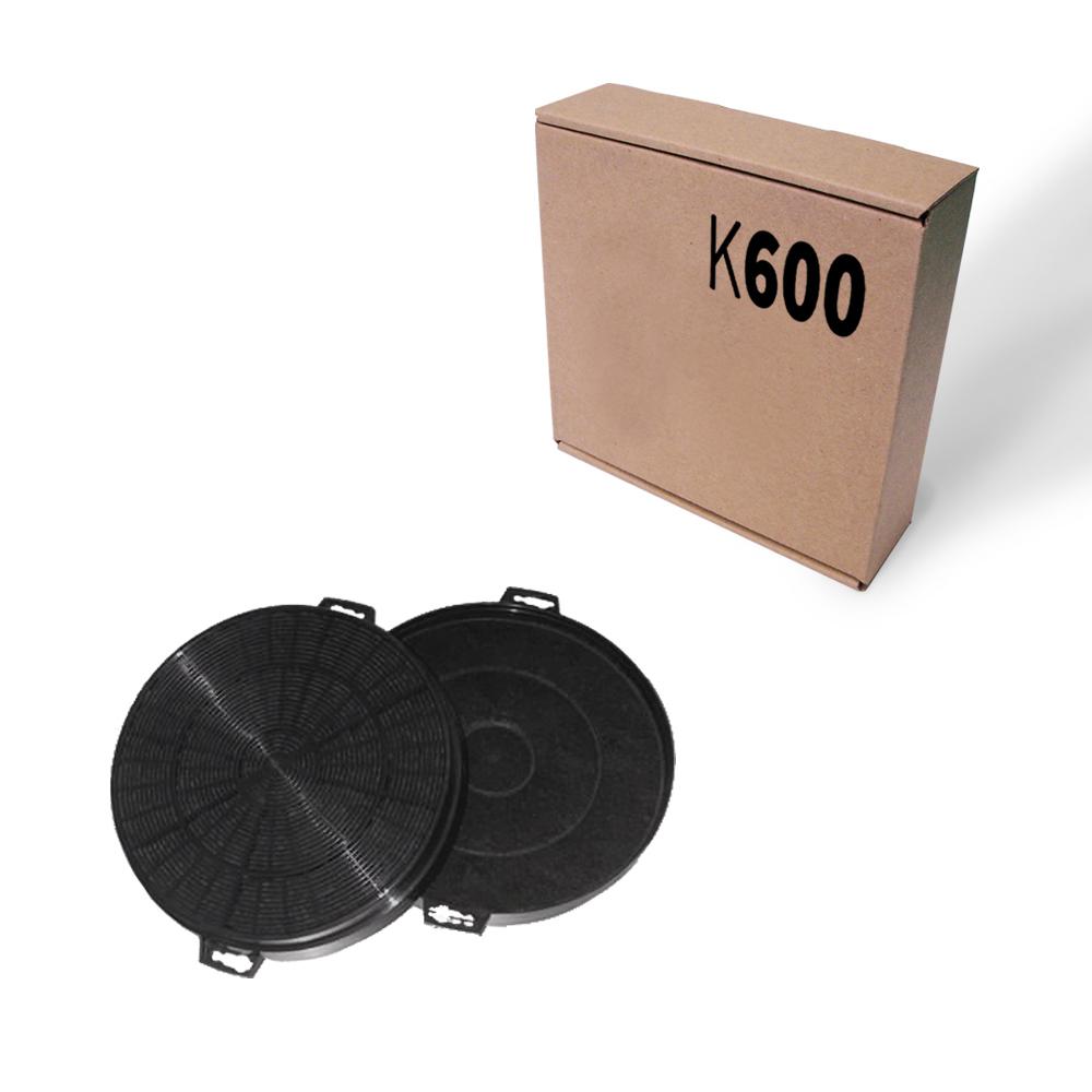 aktivkohlefilter kohlefilter k600 s1 rund 210 mm durchmesser ebay. Black Bedroom Furniture Sets. Home Design Ideas