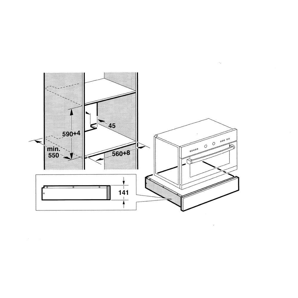 design w rme oder besteckschublade schwarz zubeh r schublade constructa. Black Bedroom Furniture Sets. Home Design Ideas