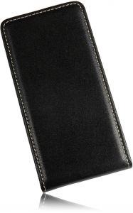 Für Sony Xperia Miro ST23i Premium Ledertasche Vertikal Handytasche Flipstyle