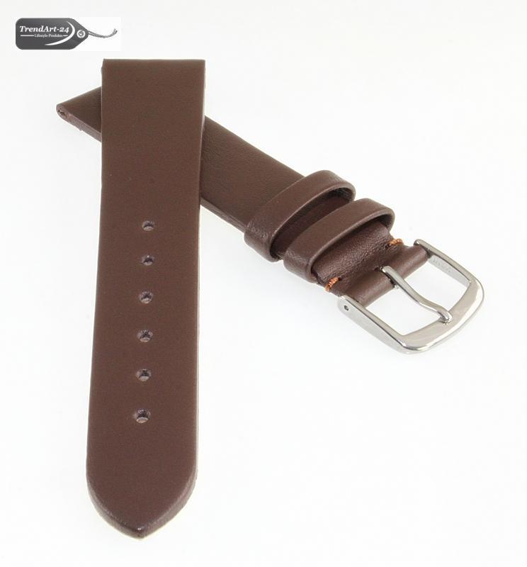 feines leder uhrenarmband basel xs braun 16 mm ebay. Black Bedroom Furniture Sets. Home Design Ideas