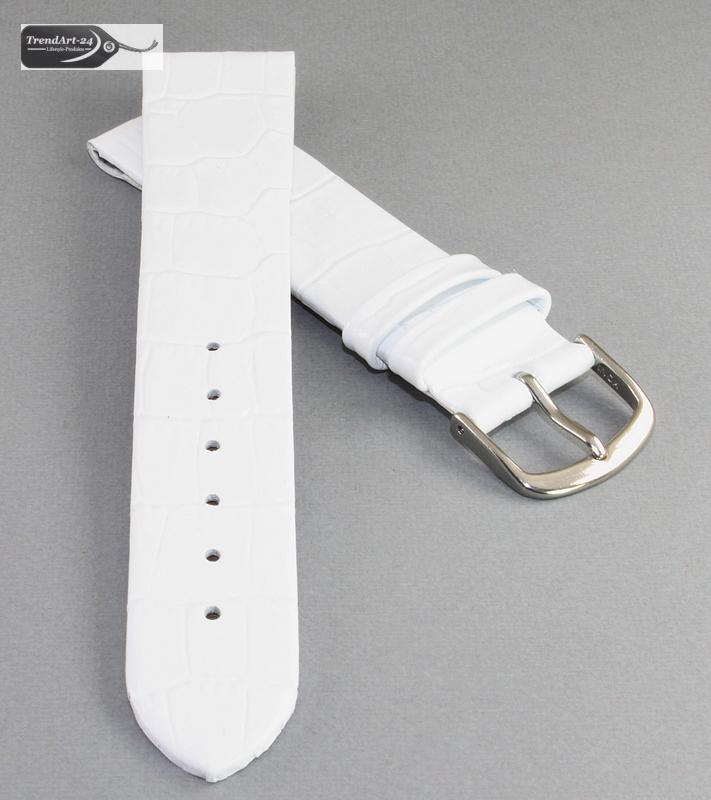 feines kroko clip uhrenarmband modell clip luis wei 10 mm. Black Bedroom Furniture Sets. Home Design Ideas