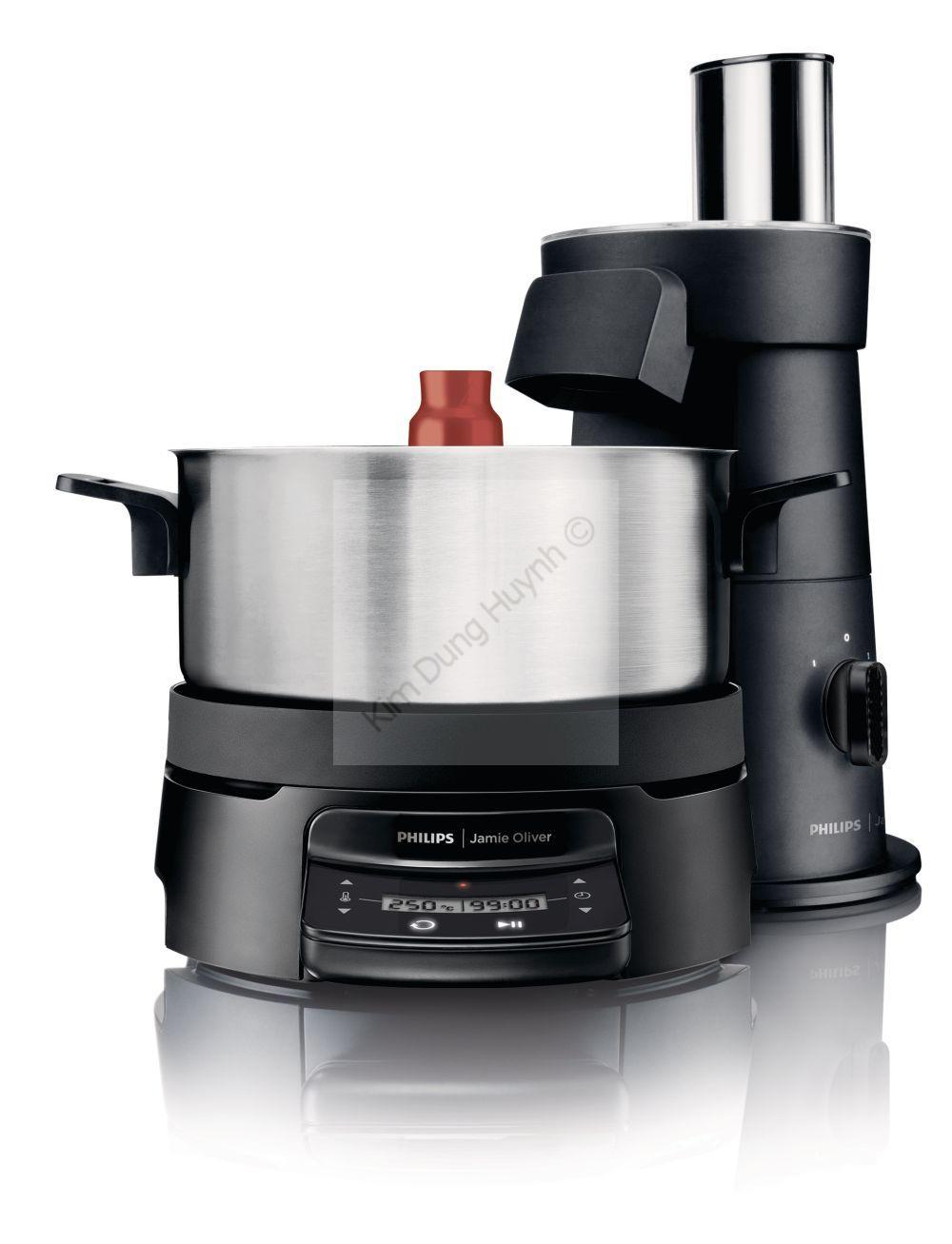 philips jamie oliver homecooker hr1050 90 dampfgarer schneideturm k chenmaschine ebay. Black Bedroom Furniture Sets. Home Design Ideas