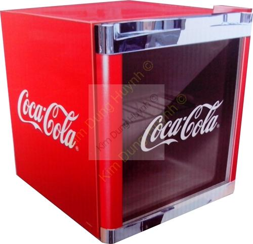 husky k hlschrank coca cola design hus cc165 cool ice cube mini bar k hl w rfel ebay. Black Bedroom Furniture Sets. Home Design Ideas