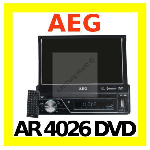 aeg ar 4026 dvd 7 lcd touchscreen car radio autoradio mp3. Black Bedroom Furniture Sets. Home Design Ideas