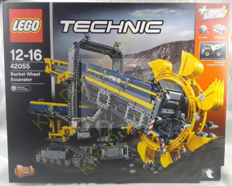 lego technic 42055 schaufelradbagger technik bagger bucket. Black Bedroom Furniture Sets. Home Design Ideas