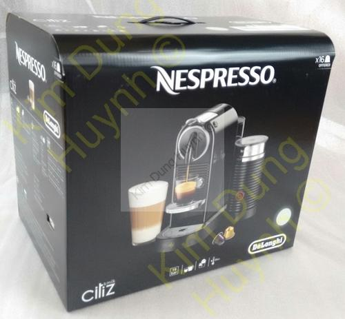 delonghi en 267 wae citiz milk nespresso kapselmaschine kaffeemaschine weiss ebay. Black Bedroom Furniture Sets. Home Design Ideas