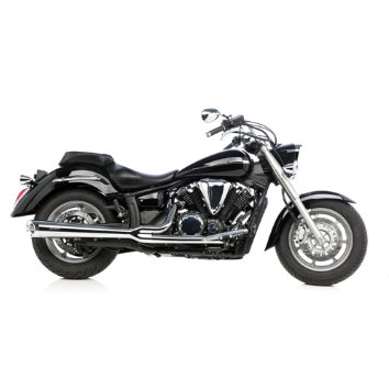 silvertail blackjack auspuff yamaha xvs 1300 m s ebay. Black Bedroom Furniture Sets. Home Design Ideas